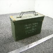 "205ea(Apprx) Ammo Cans, 10"" x 3.5"" x 6.5"" w/lids, Magnetic"