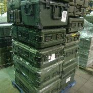 25 Pcs. Shipping and Storage Containers on 3 pallets to include but not limited to: 6 Ea. Rack Mount, L:35in, W;21in, H1