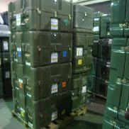 25 Pcs. Shipping and Storage Containers on 3 pallets to include but not limited to: 6 Ea. Shipping and Storage Container