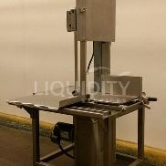 2012 Hobart 6801 Meat Band Saw, SN: 31-1423-709. Used To Cut Bone-In And Boneless Meat Products In A High-Volume Product