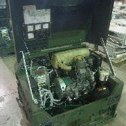 Fermont. Mdl MEP-831A, Diesel engine generator set 3kw, 120 Volts 1 Phase 120/240 Volts 1 Phase, 60 Hertz, Hours 8, Engi