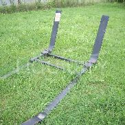 2 EA man sleds to include (1) Marty Gilman Inc 4 man football sled measuring 11' x 9' x 4'; (1) 2 man football sled, mfg