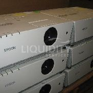730 Pcs. (Approx.) consisting of 6 Ea. Epson PowerLite 6100i Projectors and 724 Ea. (Approx.) Bulbs and Lamps. Projecto