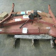 Toro Company industrial lawn mower deck, missing 1 wheel. GL will provide flat bed load.