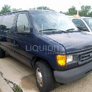 2003 Ford E-350 Cargo Van VIN: 1FTSS34L13HB35809 Meter indicates 39,124 miles. Powered by an Econoline gas engine. Equ