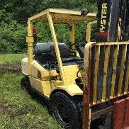 2006 Hyster H80XM 8,000lbs lift capacity Forklift. Approximately 20,000 hours runtime. S/N L005V07566D. Unit is impaired