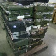 25 Pcs. Shipping and Storage Containers on 4 pallets to include but not limited to: 2 Ea. Shipping Container, L:51in, W: