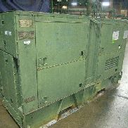 1984 Libby Welding mdl MEP007B 100 KW diesel engine generator set SN RZ00524, has CAT mdl 3306 6 cylinder diesel engine,