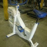 Monark 828E Ergomedic Micofit Robo Stationary Bike. Operational status is unknown. Total weight estimated. 48 hour reque