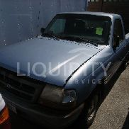 1998 Ford Ranger, VIN# 1FTYR10U8WUC79040. Engine: gas 3.0 L V6, 2WD, 4 speed auto, mileage 43,944. Includes heat, AC,
