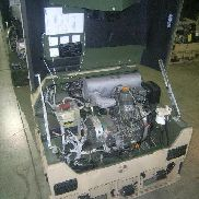 Fermont. Mdl MEP-831A, Diesel engine generator set 3kw, 120 Volts 1 Phase 120/240 Volts 1 Phase, 60 Hertz, Hours 2, Engi