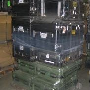 29 Pcs. Shipping and Storage Containers on 3 pallets to include but not limited to: 5 Ea. Storage Container, L:40in, W:2