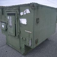 "Gichner Mobile Systems Nonexpandable Shelter, dim: 86"" x 80"" x 70"". GL will load."