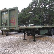 54000 lbs. approx. 3ea M872 trailers. These trailers have a quality deficiency and will require mutilation. Mutilation c