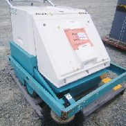 Tennant co. Mdl# 186 Self rotary sweeper, Sn: 186-9654, meter indicates 0074.hrs, w/key & battery, GL will provide Tail