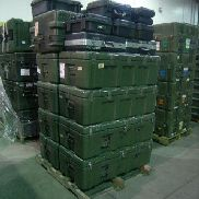45 Pcs. Shipping and Storage Containers on 3 pallets to include but not limited to: 4 Ea. Hardigg iM2200 Storm Case, bla