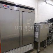 US Refrigeration UM-48F 2-Door Freezer, SN: us2014va421. Used to keep food cool for further preparation. Estimated Weig