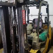 2008 Komatsu FG32SHT-16 6,000lbs lift capacity Single/Double Forklift. Approximately 16,359 hours. Serial number: 216479