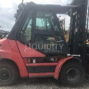 2012 Linde H70D 15,000lb Lift Capacity Forklift. Approximately 13,600 Hours. Serial Number: H2X396C01197. Unit is not op