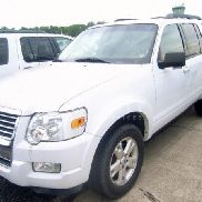 2010 Ford Explorer VIN: 1FMEU7DE1AUA84540. Meter indicates 63,670 miles. Powered by a 4.0 L engine, 4 Wheel drive, equ