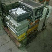 25 Pcs. Shipping and Storage Containers on 2 pallets to include but not limited to: 6 Ea. Storage Container, L:22in, W:2