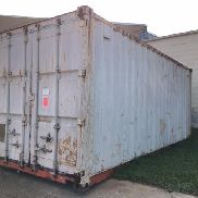 Evergreen Heavy Industrial corp ECC10-03-1 Steel shipping container. All persons must be U.S. Citizens with 2 forms of p