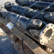"15 ea Spicer p/n 3001024-1 propeller driveshaft assy. from transfer to rear axle, dim. 7"" X 37"", GL will provide tailgat"
