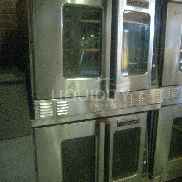 "Garland Master 450 double stack gas ovens. Unknown working condition. Estimated dimensions: 38.5"" X 41"" X 68"". Total wei"