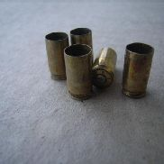 890 lbs approx. of 9.00 MM fired brass casings, head stamps of WMA14, May contain cartridges with other markings, Mutil