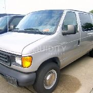 2003 Ford E-350 12 Passenger Van VIN: 1FBSS31L63HB00854. Meter indicates 57,216 miles. Powered by an Econoline gas eng