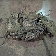 16ea Large Rucksack with frame, Molle 2, Universal Digital Camouflage. Used.