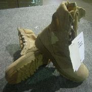 74pr(Apprx)Hot Weather Combat Boots,Sizes To Include:4r, 5r, 4.5n, Color Tan, Unused