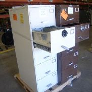 2 each five drawer file safes, (1) Mosler SFC-5, (1) Hamilton C6-2, both have analog combo's set to 50-25-50, Preview an