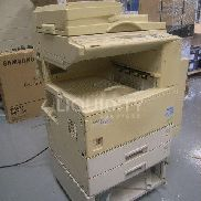 "Savin 9922DP Office copy machine. Unit is mobile with wheels. Estimated dimensions: 26"" X 23"" X 45"". Total weight estima"