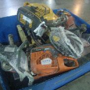 8ea Power Saws To Include: Husqvarna Mdls K750, K970, K1250; Hilti Mdl DSH900 Motors Turn, Working Condition Unknown