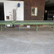 Roller conveyor with stop system Stegwa