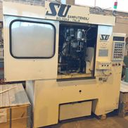 Samputensili Typ SU-SCT / S High Production Universal-Anfasen und Entgraten Machine. 1995 Neu.
