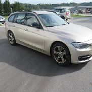 Car BMW 320d estate car