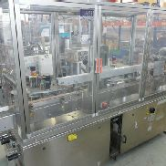 NERI DL400 self-adhesive labeller for bottles etc with 2 labelling heads