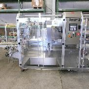 Pester Pewo-Form UVP-2 automatic case packer for cartons, with carton buffer system.