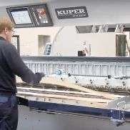 KUPER ACR 3200 machine de placage d'épissage