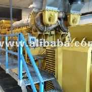 CAT 3612 NATURGAS POWER PLANT