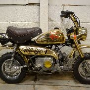 Honda Z50 Gold Edition
