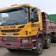 1 - Scania P400 8 x 4 Kipper LKW