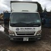 1 - Mitsubishi Fuso Canter 7C-18 4 x 2 Harvey Curtainside Body Truck