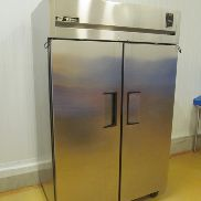 1 - True TR2F-2S Stainless Steel Double Door Freezer