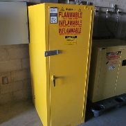 1 - Justrite SC25844Y 54 Gallon Safety Cabinet