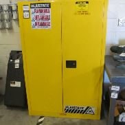 1 - Justrite 894500 45 Gallon Safety Cabinet