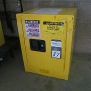 1 - Justrite 890420 4 Gallon Safety Cabinet