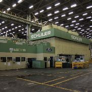 1 - Schuler TSB-3200-6-1828.8 3200 ton Tri-Axes Transfer Press Line